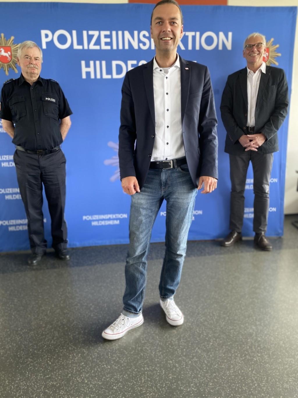 Besuch der Polizei Hildesheim